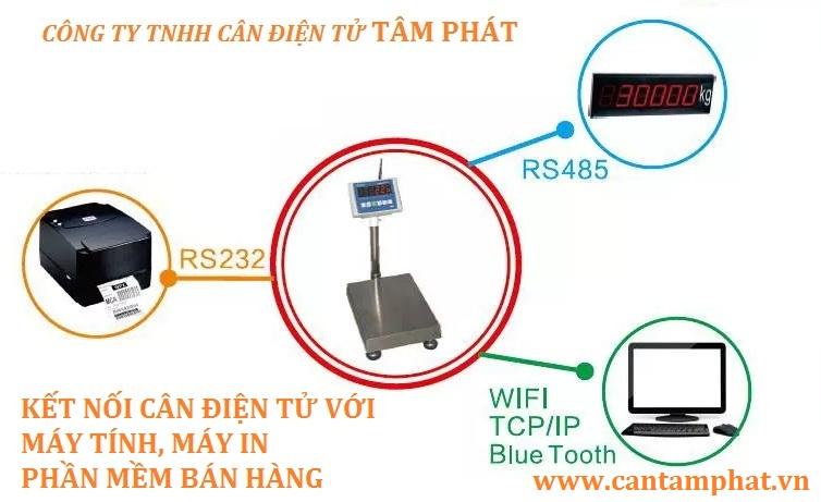 Kết nối bằng RS232 gaimr chi phí hoạt động ổn định