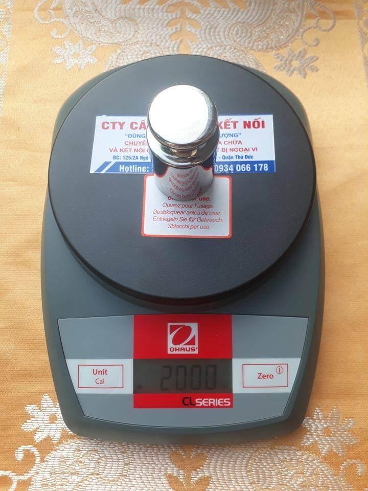 Cân điện tử CL dùng để cân các sản phẩm nhỏ