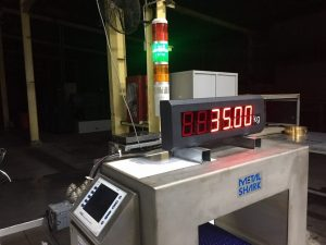 kết nối cân điện tử với bảng đèn LED và đèn 3 màu