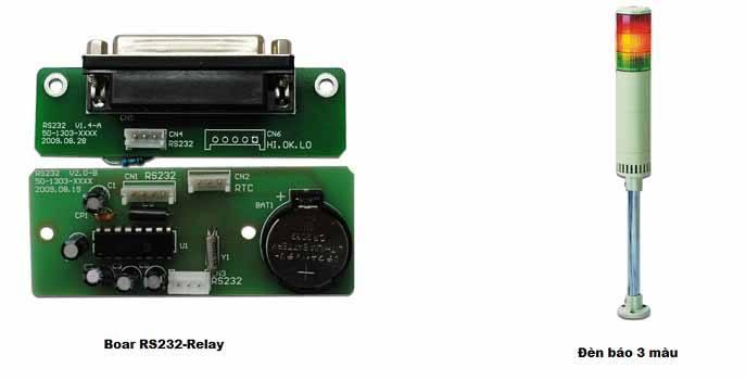 kết nối cân điện tử với đèn 3 màu