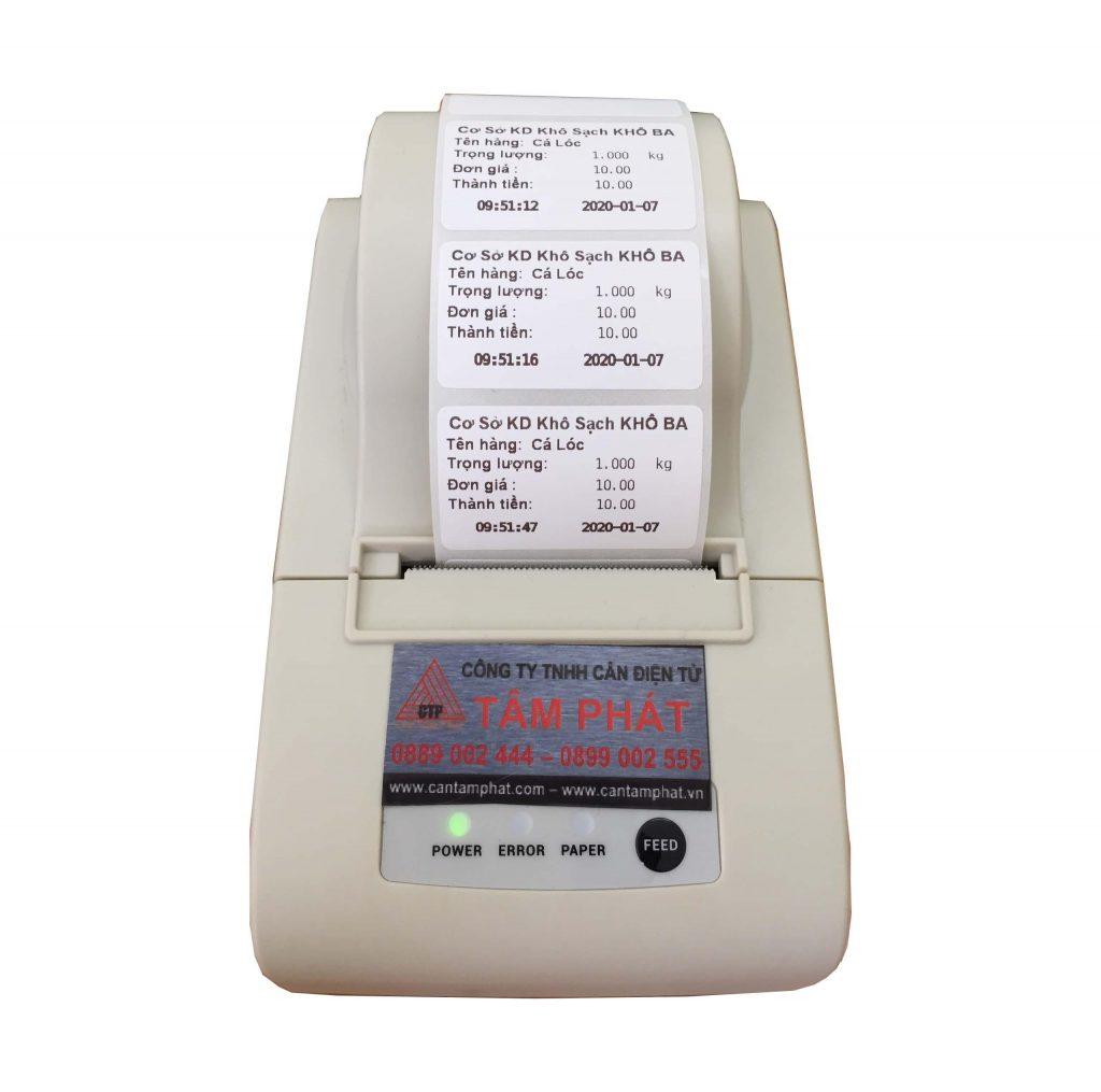 máy in kết hợp với cân tính tiền